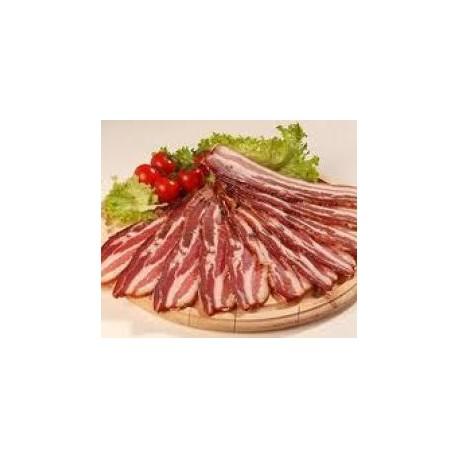 Poitrine de Porc séchée en morceaux - 500g