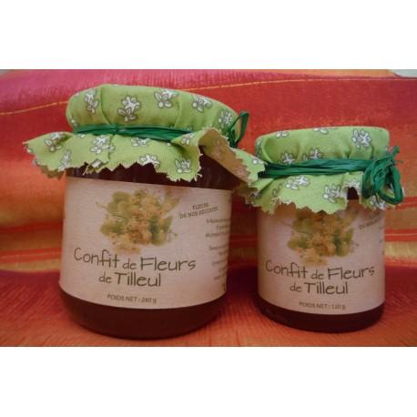 Confits de fleur de Tilleul - 120 G