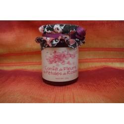 Confit de Fleurs de Roses - 120 g