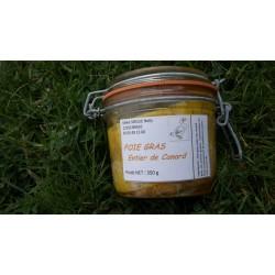 Foie gras entier de canard 350 gr en verrine