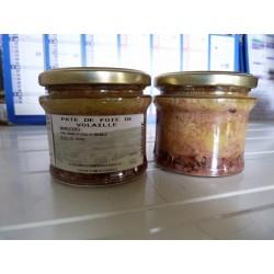 pâté de foie de volailles 180 gr