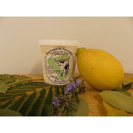 Yahourt citron 125 g