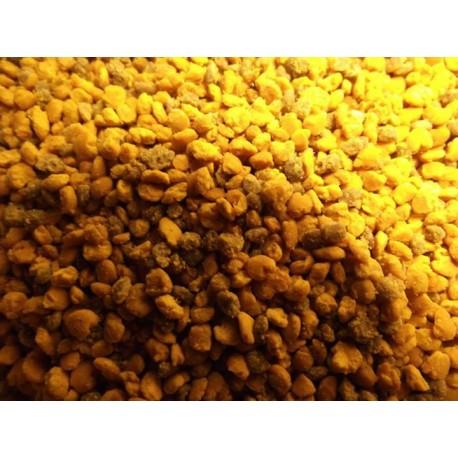Pollen frais de châtaigniers